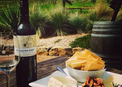 Deviation Road wine and cheese