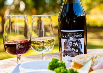 Magpie Springs bottles and nibbles